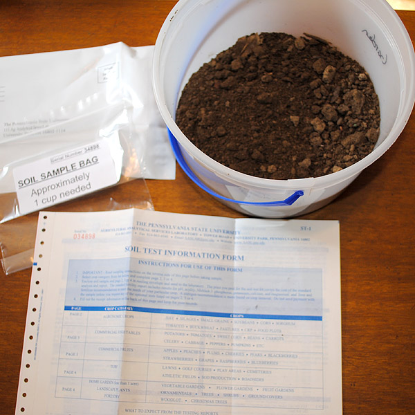 Soil test picture